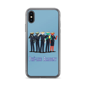 Movie The Food Pholice Academy iPhone X/XS Phone Case