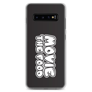 Movie The Food Text Logo Samsung Galaxy S10+ Phone Case