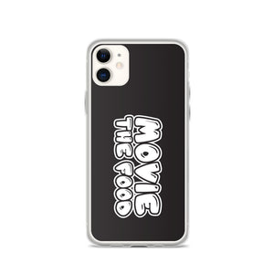 Movie The Food Text Logo iPhone 11 Phone Case