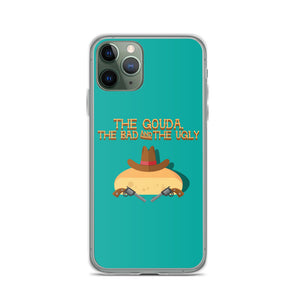 Movie The Food The Gouda, The Bad, The Ugly iPhone 11 Pro Phone Case