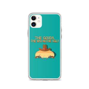 Movie The Food The Gouda, The Bad, The Ugly iPhone 11 Phone Case