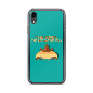 Movie The Food The Gouda, The Bad, The Ugly iPhone XR Phone Case