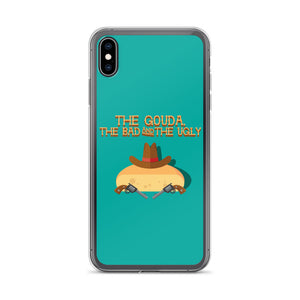 Movie The Food The Gouda, The Bad, The Ugly iPhone XS Max Phone Case