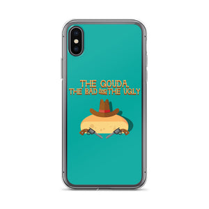 Movie The Food The Gouda, The Bad, The Ugly iPhone X/XS Phone Case