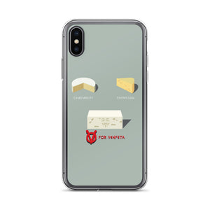 Movie The Food - V For Venfeta  - iPhone X/XS Phone Case