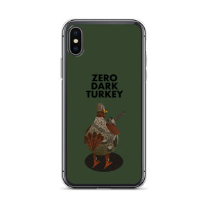 Movie The Food - Zero Dark Turkey - iPhone X/XS Phone Case