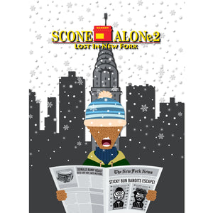 Movie The Food - Scone Alone 2 Long Sleeve T-Shirt - Design Detail