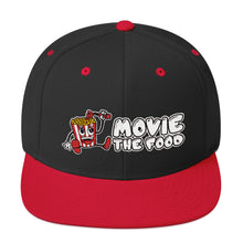 Load image into Gallery viewer, Movie The Food - Logo Snapback - Black/Red