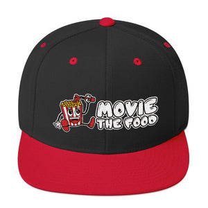 Movie The Food - Logo Snapback - Black/Red
