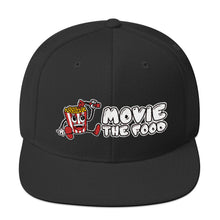 Load image into Gallery viewer, Movie The Food - Logo Snapback - Black