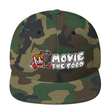 Load image into Gallery viewer, Movie The Food - Logo Snapback - Camo