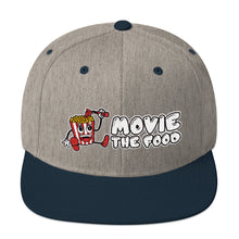 Load image into Gallery viewer, Movie The Food - Logo Snapback - Heather/Navy