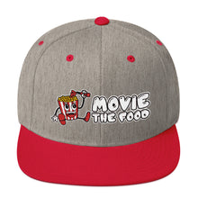 Load image into Gallery viewer, Movie The Food - Logo Snapback - Heather/Red
