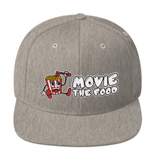 Load image into Gallery viewer, Movie The Food - Logo Snapback - Heather