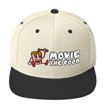 Load image into Gallery viewer, Movie The Food - Logo Snapback - Natural/Black