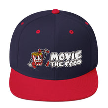Load image into Gallery viewer, Movie The Food - Logo Snapback - Navy/Red