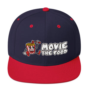 Movie The Food - Logo Snapback - Navy/Red