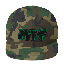 Load image into Gallery viewer, Movie The Food - MTF Logo Snapback - Camo