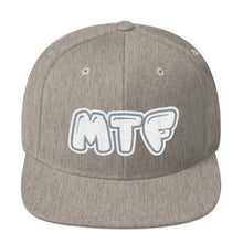 Load image into Gallery viewer, Movie The Food - MTF Logo Snapback - Heather