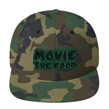 Load image into Gallery viewer, Movie The Food - Text Logo Snapback - Camo