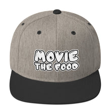 Load image into Gallery viewer, Movie The Food - Text Logo Snapback - Heather/Black