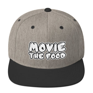 Movie The Food - Text Logo Snapback - Heather/Black