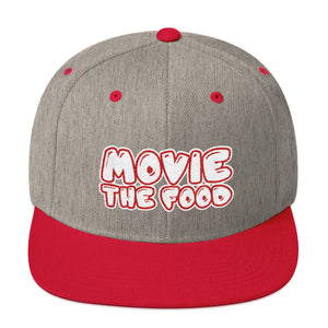 Movie The Food - Text Logo Snapback - Heather/Red