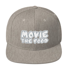 Load image into Gallery viewer, Movie The Food - Text Logo Snapback - Heather