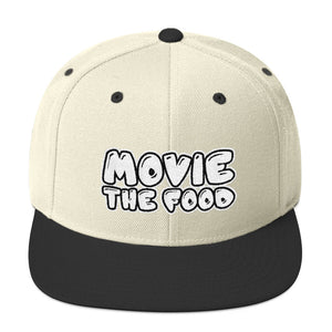 Movie The Food - Text Logo Snapback - Natural/Black