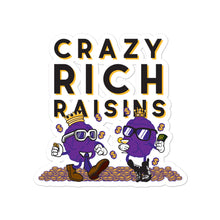 Load image into Gallery viewer, Movie The Food - Crazy Rich Raisins - Sticker - 4x4
