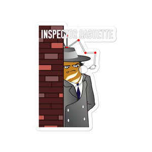 Movie The Food - Inspector Baguette - Sticker - 4x4