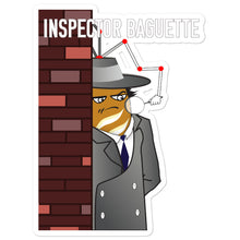 Load image into Gallery viewer, Movie The Food - Inspector Baguette - Sticker - 5.5x5.5