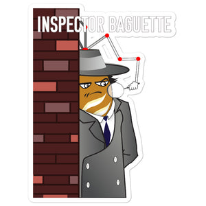 Movie The Food - Inspector Baguette - Sticker - 5.5x5.5