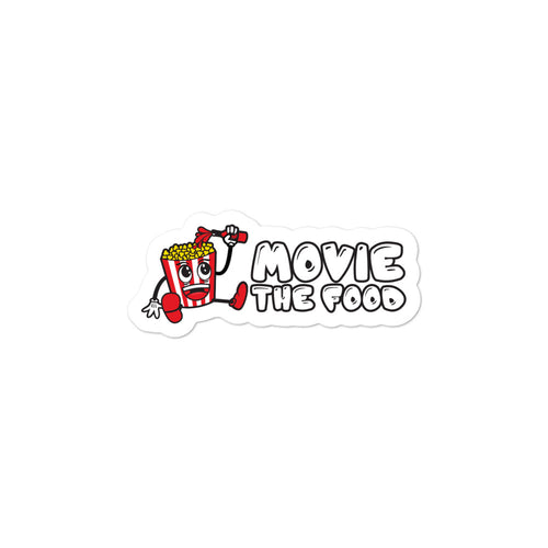 Movie The Food - Logo - Sticker - 3x3