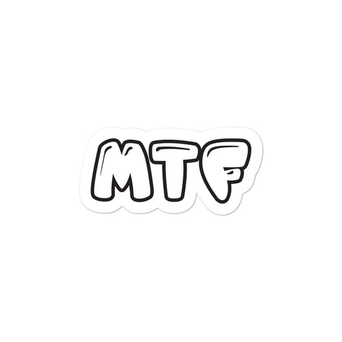 Movie The Food - MTF Logo - Sticker - 3x3