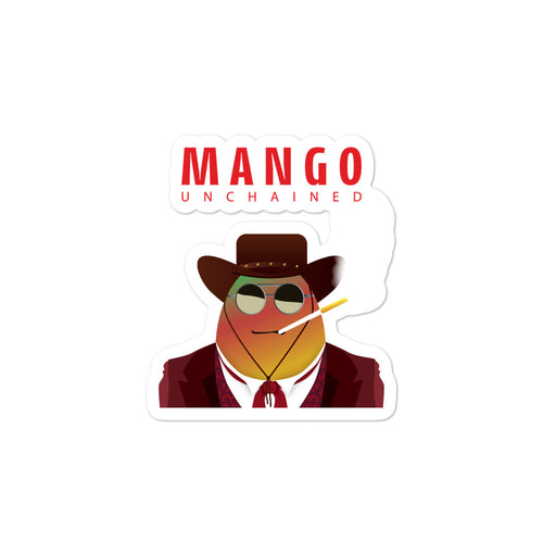 Movie The Food - Mango Unchained - Sticker - 3x3