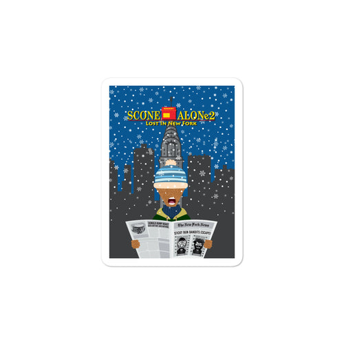 Movie The Food - Scone Alone 2 - Sticker - 3x3