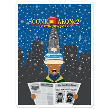 Load image into Gallery viewer, Movie The Food - Scone Alone 2 - Sticker - 5.5x5.5