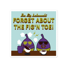 Load image into Gallery viewer, Movie The Food - The Fig Lebowski - Sticker - 4x4