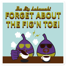 Load image into Gallery viewer, Movie The Food - The Fig Lebowski - Sticker - 5.5x5.5