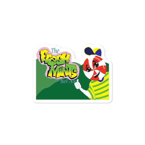 Movie The Food - The Fresh Mints of Bel-Air - Sticker - 3x3