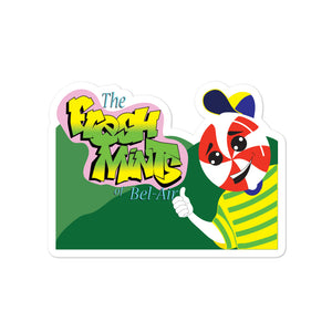 Movie The Food - The Fresh Mints of Bel-Air - Sticker - 4x4