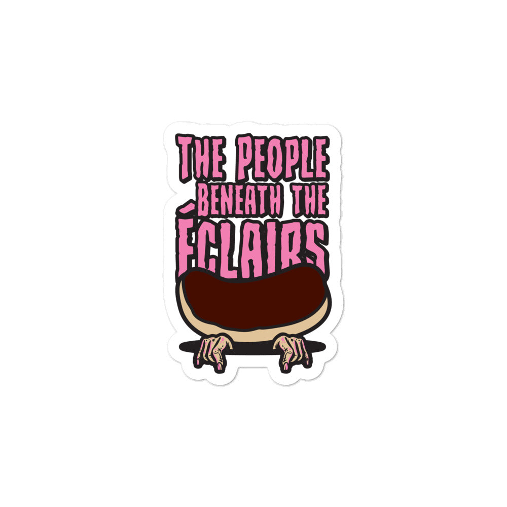 Movie The Food - The People Beneath The Eclairs - Sticker - 3x3