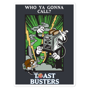 Movie The Food - Toastbusters - Sticker - 5.5x5.5