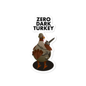 Movie The Food - Zero Dark Turkey - Sticker - 4x4