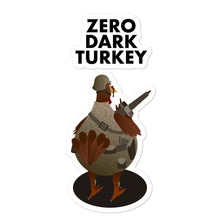 Load image into Gallery viewer, Movie The Food - Zero Dark Turkey - Sticker - 5.5x5.5