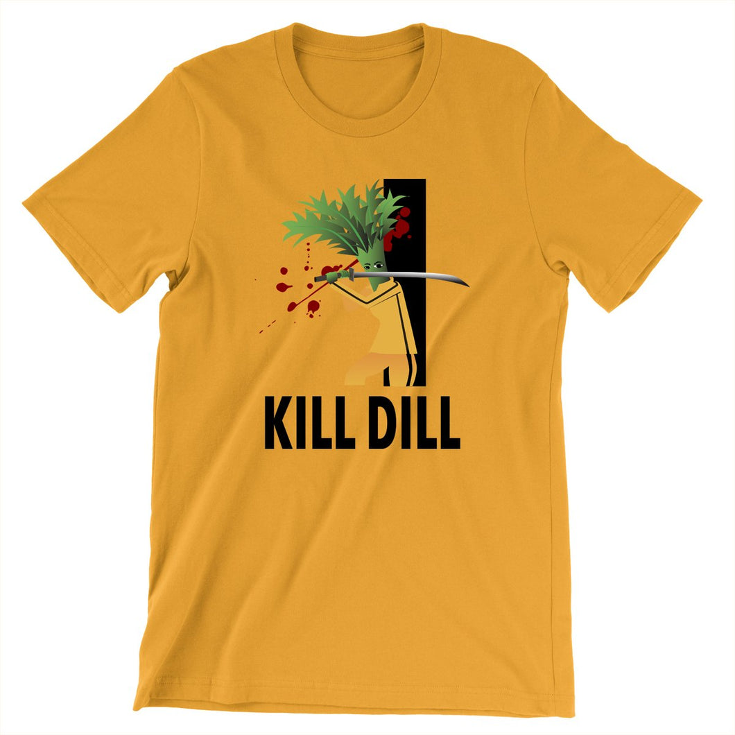 Movie The Food - Kill Dill T-Shirt - Gold