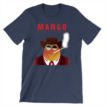 Load image into Gallery viewer, Movie The Food - Mango Unchained T-Shirt - Navy
