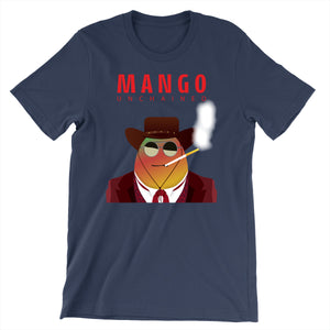 Movie The Food - Mango Unchained T-Shirt - Navy