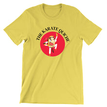 Load image into Gallery viewer, Movie The Food - The Karate Quiche T-Shirt - Gold